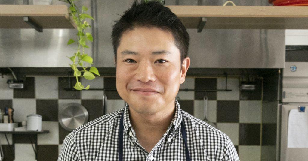 〝おいしい〟のバトン no.1 栗原心平さん(料理家)