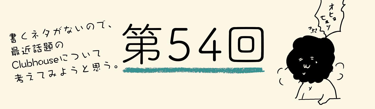 54回目次